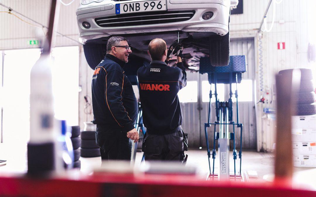Konditionstesta din bil i Kungsbacka.